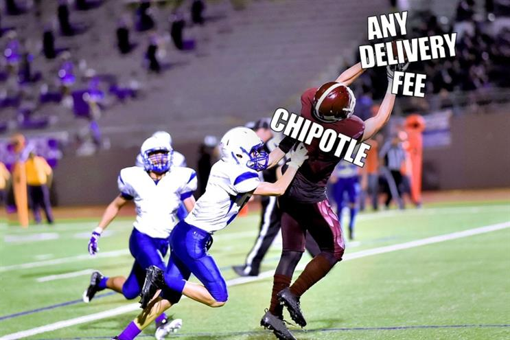 """Out-of-body delivery inaugurates Chipotle's """"Interception"""" campaign"""