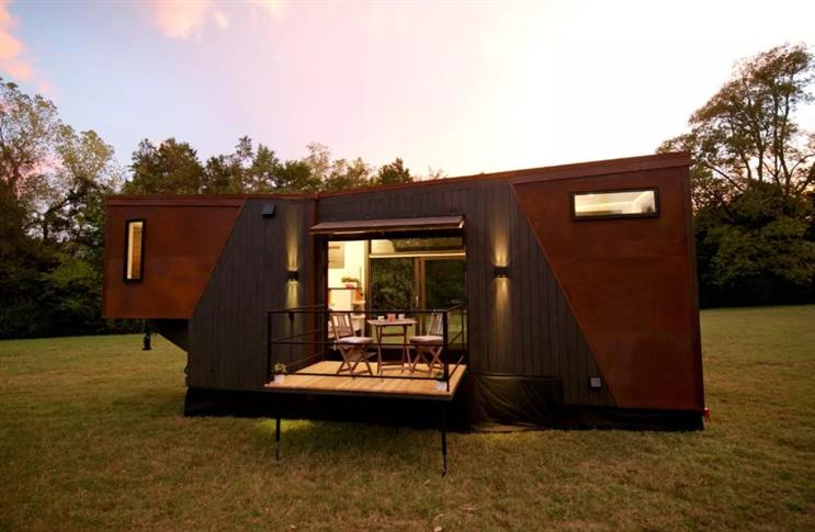 Brew-tiful tiny home run by Dunkin' Donuts listed on Airbnb