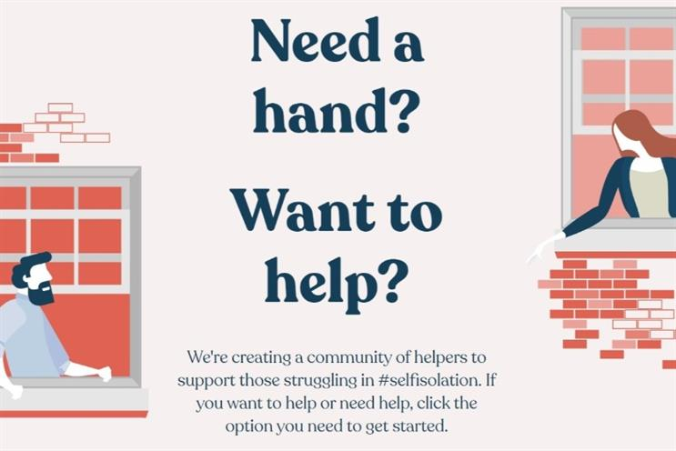 Agency creates community tool for people to help each other in crisis