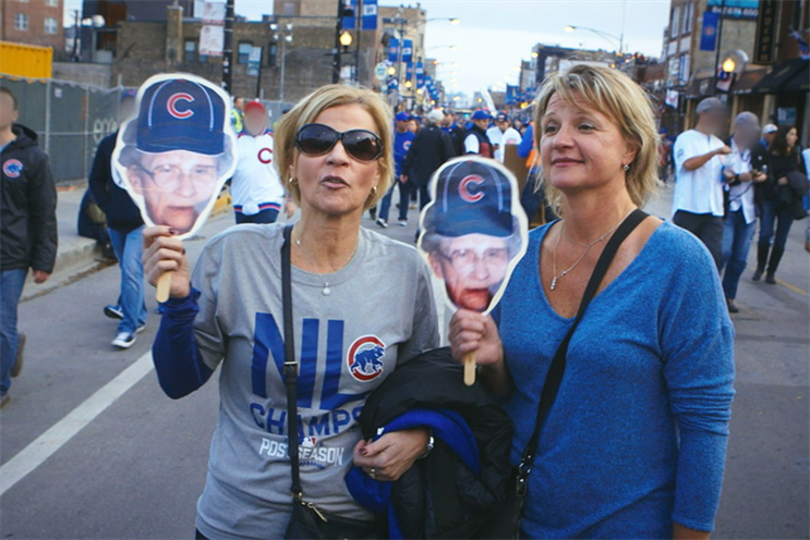 Watch: Mastercard, Bud, Nike and ESPN were ready to go with Cubs tributes