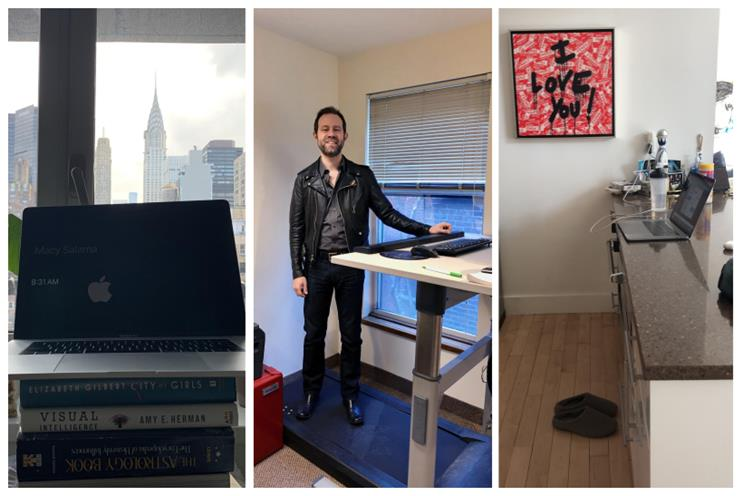 Several photos of standing desks just for the hell of it