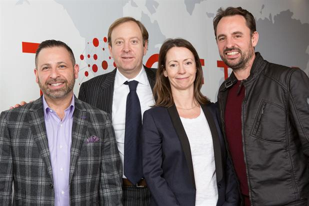 Helia: (l-r) Marobella, Benett, Whitmey and Fanshawe will oversee the new business.