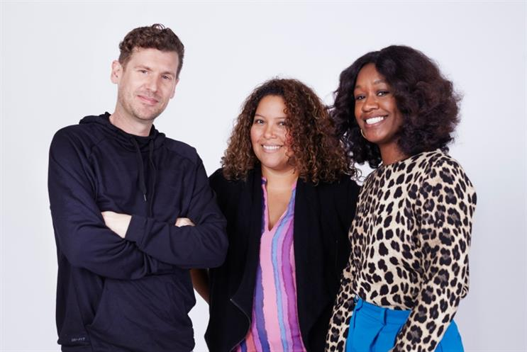 Ian Burns, Mitsy Lopez-Baranello and Marlena Edwards (L to R)