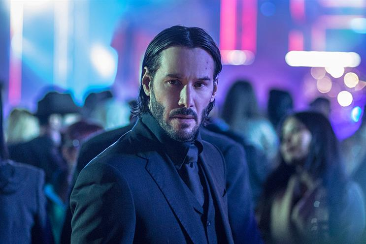 Lionsgate puts a clever spin on movie trailers with John Wick 2 chatbot