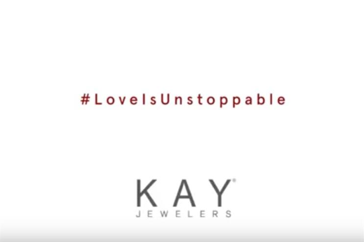 'Sometimes what keeps us apart, actually brings us together,' says Kay Jewelers