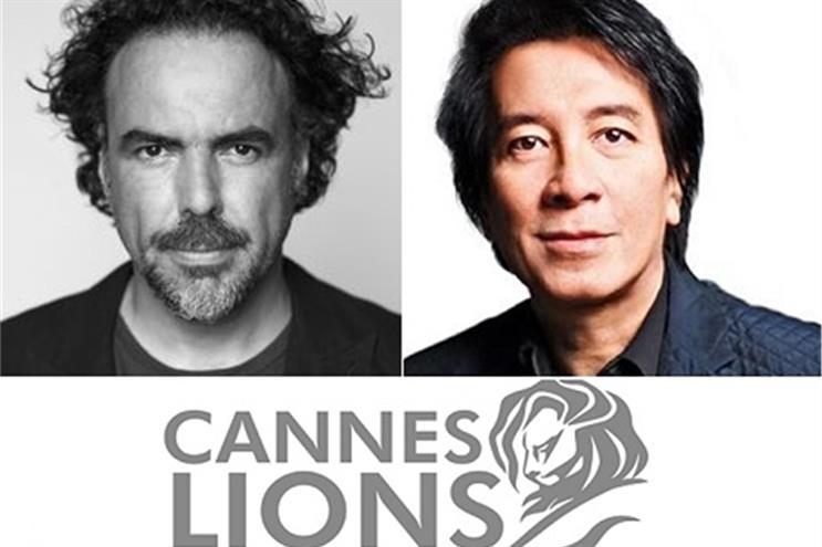 Alejandro González Iñárritu (left) and Tham Khai Meng.