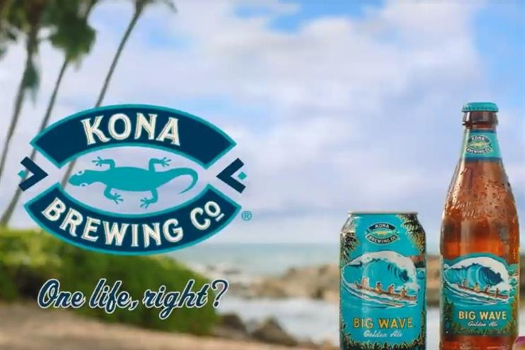 Cheers to Kona Brewing Co.'s largest-ever marketing drive