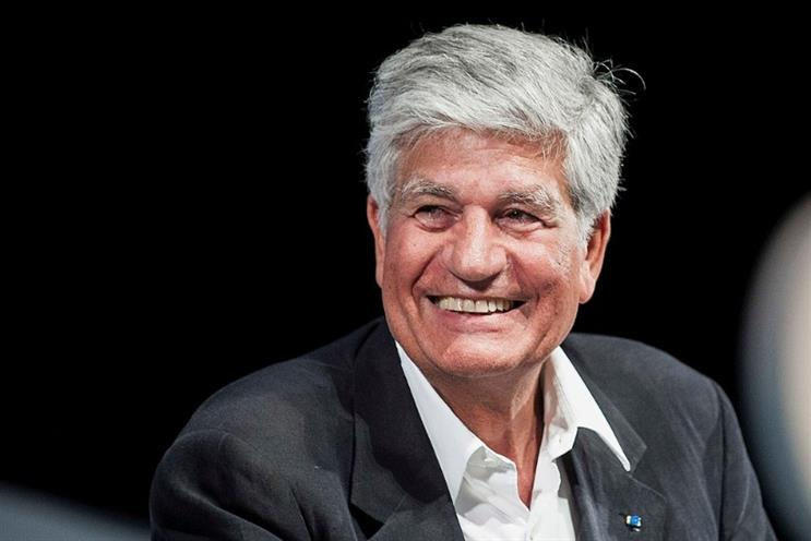 Former Publicis CEO Maurice Levy is WeWork's new CMO