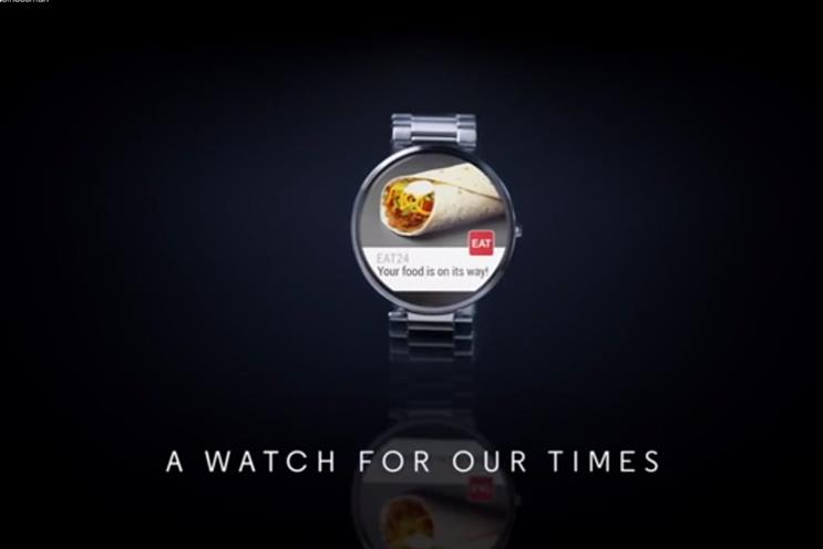 Moto 360 'A Watch for Our Times' by Droga5