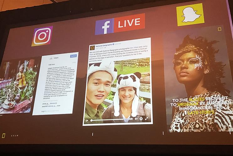 SXSW: How letting go gave Nat Geo social domination
