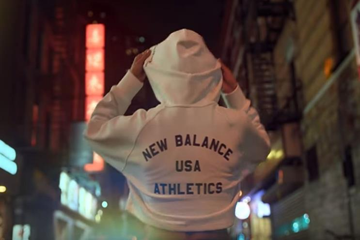 New Balance sprints at us with female-led running anthem