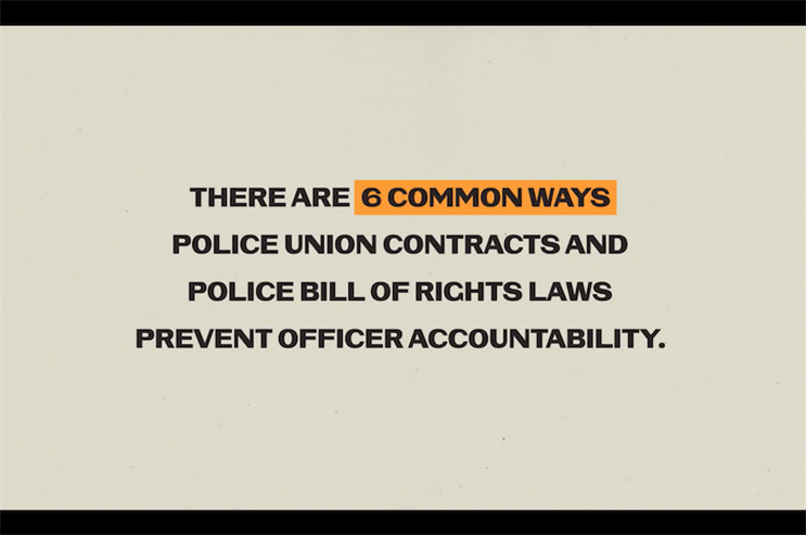 Wieden & Kennedy lends creative weight to police accountability campaign