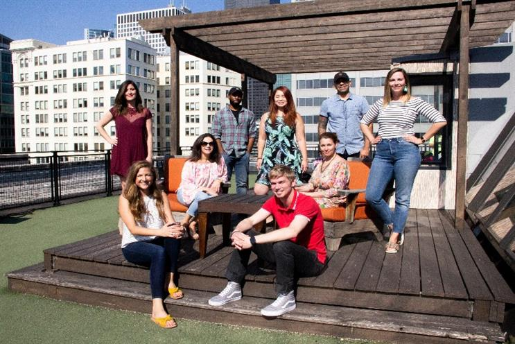 The expanded creative department at OKRP
