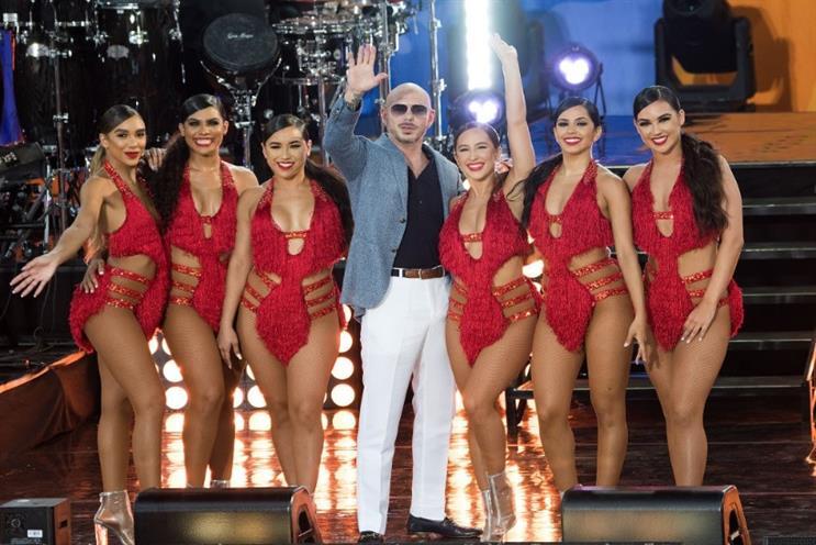 Pitbull's recent performance on ABC