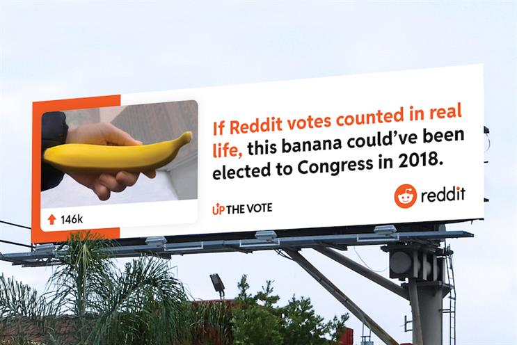 Reddit wants to Up The Vote in first brand activation