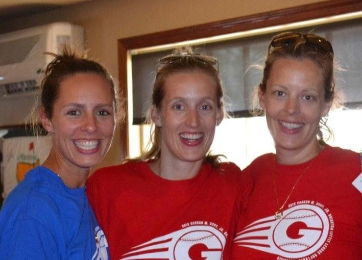 (L to R) Meredith Ernstrom, Whitney Cook, Courtney Cotrupe