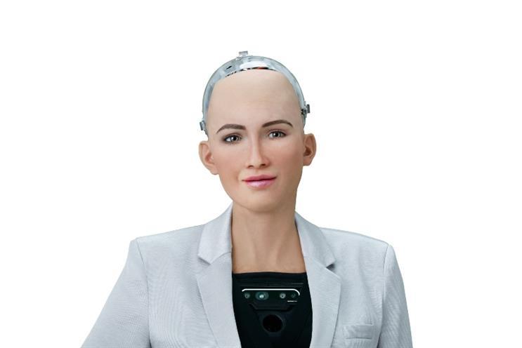 Sophia the Robot joins #ChooseWomen Wednesday as spokeswoman