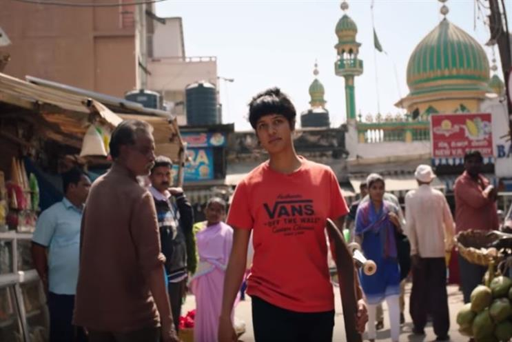 f1995fa3b87ecc Vans   Girls Skate India  campaign follows athletes battling cultural  expectations