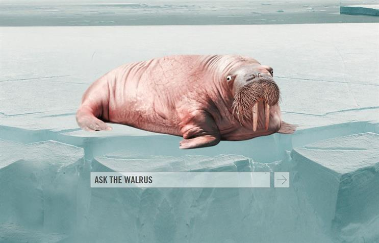 How Walrus' talking mascot helped agency land new business