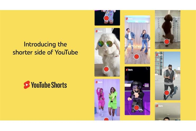 YouTube launches 'Shorts' campaign to compete with TikTok