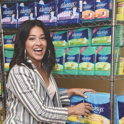 Always campaign with Gina Rodriguez