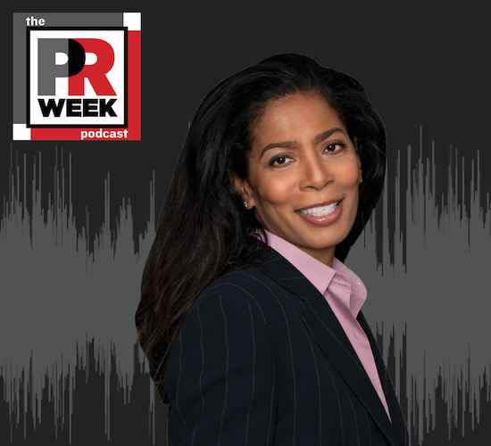 Judy Smith on the PRWeek podcast
