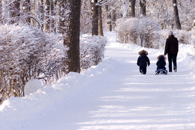 Recent weather conditions have made the journey to work difficult for many (Photograph: istock)
