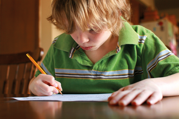 Children may present with difficulties in writing (Picture: iStock)