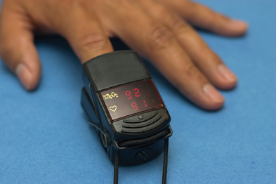 Telehealth: patients used pulse oximeters and other devices at home
