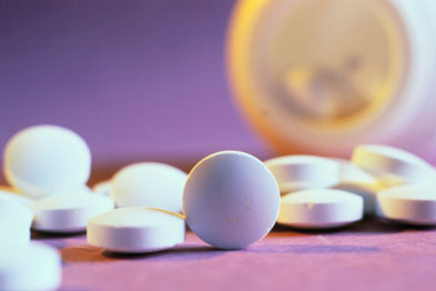 Calcium pills have been shown to raise risk of stroke (Photograph: SPL)