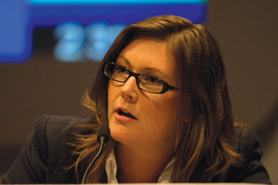 Dr McCarron-Nash: dismayed to hear fo cuts to general practice