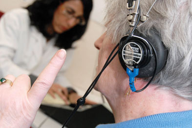 Patients should be referred to ENT for an audiological assessment (Photograph: SPL