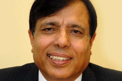 Dr Chandwas was awarded an OBE in the Queen's birthday honours