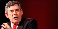 Gordon Brown (Photograph: J H Lancy/HML)