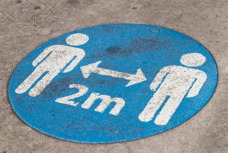 Social distancing rules to change (Photo: Getty Images)