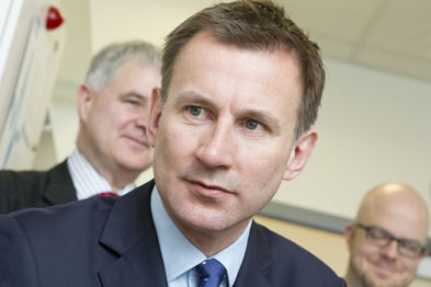 Jeremy Hunt: 'This is about reducing the workload of GPs.'