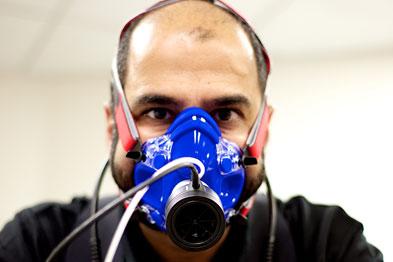 Dr Sundeep Dhillon will be testing new breathing equipment