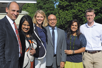 Dr Mike D'Souza and team, Kingston, Surrey (Photograph: JH Lancy)