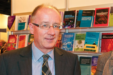 Professor Sparrow: we are aware there is tremendous variability in the way GPs are investigated (Photograph: Pete Hill)