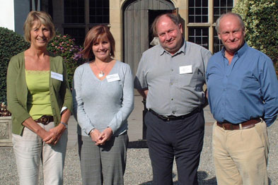 From left to right: Dr Ros Jones, Dr Sandra Fox, Dr Peter Holding and Dr John Williams attend the Rural Doctors Conference in Wales