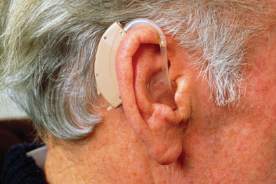 Patients with Ménière's disease may be offered a hearing aid (Photograph: SPL)