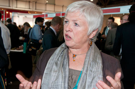 Professor Howe: salaried and locum GPs must be involved in CCGs (photo: Pete Hill)