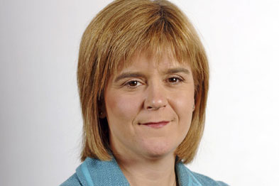Ms Sturgeon: 'The NHS reforms in England are a threat to the contract's ability to ensure Scottish patients receive quality care.'