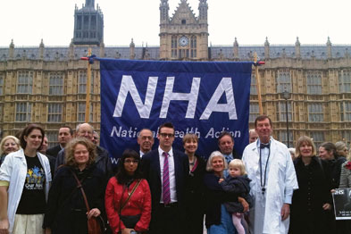 The NHA party was launched with an event at the Houses of Parliament last month