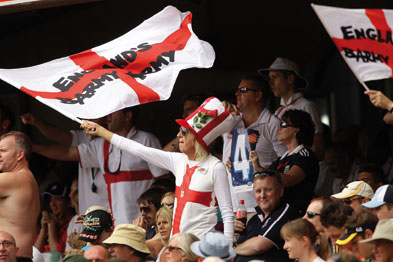 Barmy Army: travelling cricket fans face health risk