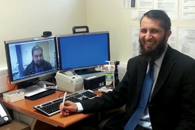 Dr Sirfraz Hussain: Skype consultations pilot
