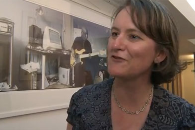 Dr Adams: the shots reflect the trust between GPs and their patients