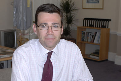 Mr Burnham said the five-year plans were 'gritty and realistic'
