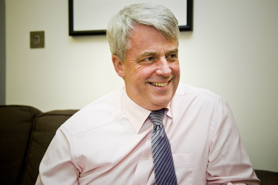 Mr Lansley: says DoH micromanagement has become 'absurd' (Photograph: Emilie Sandy)