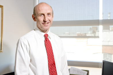 John Healey: new shadow health secretary (Photograph: Mark Weeks)